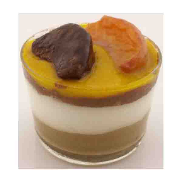 Crema chocolate, Mousse Cafe